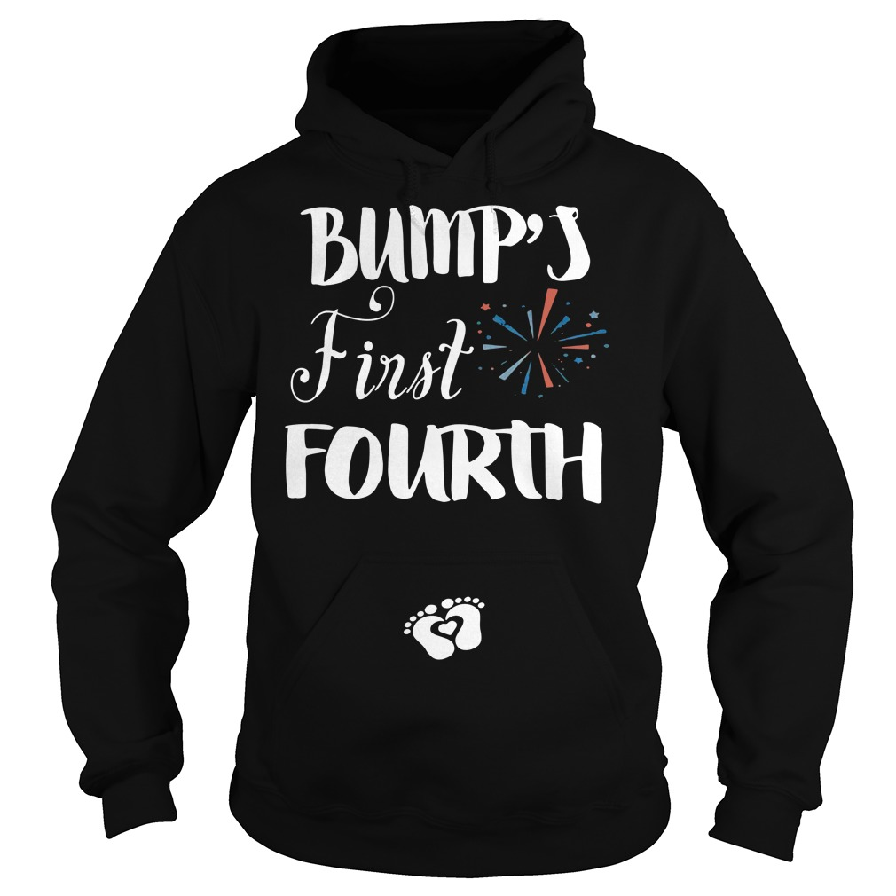 Bump's first fourth Hoodie