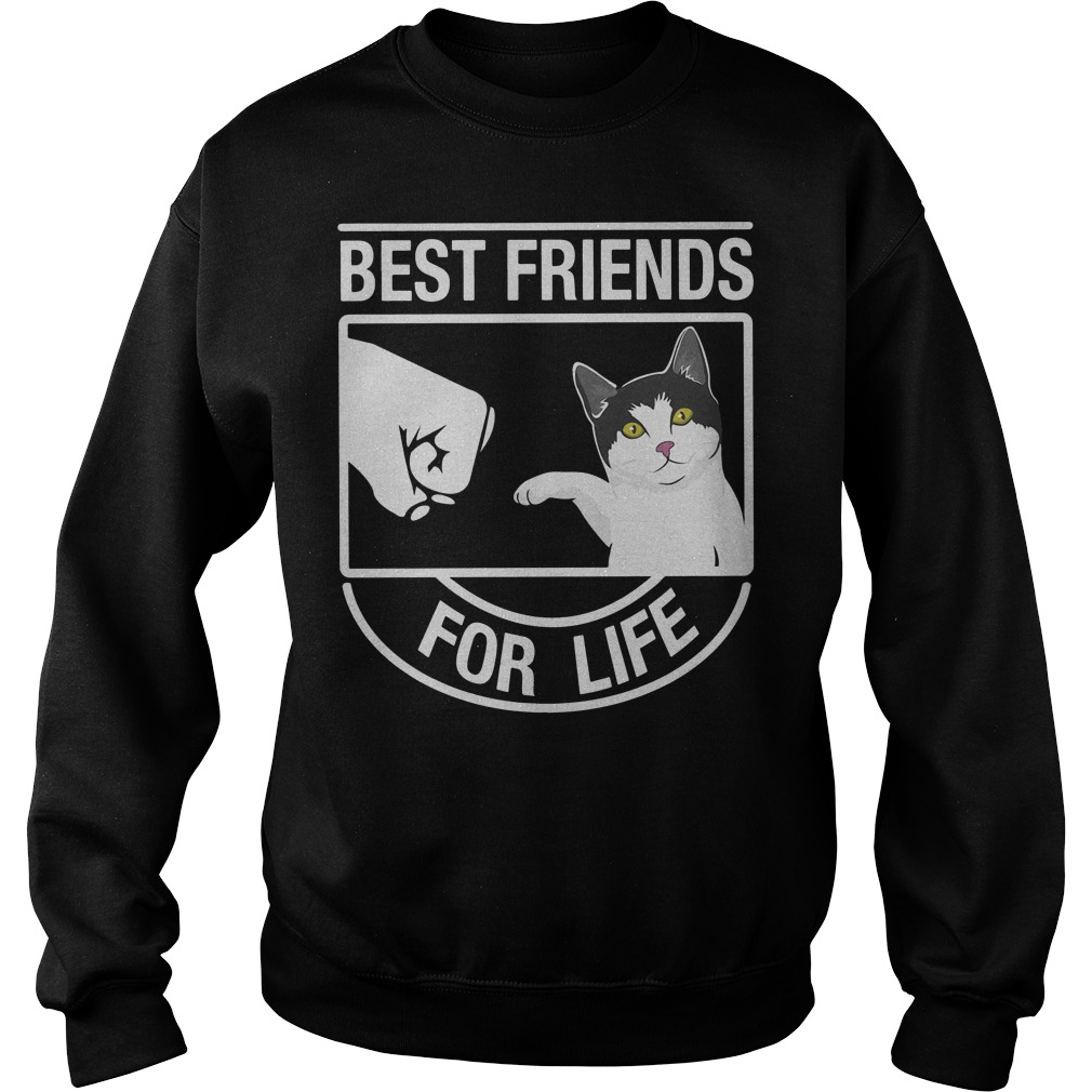 Cat best friends for life Sweater