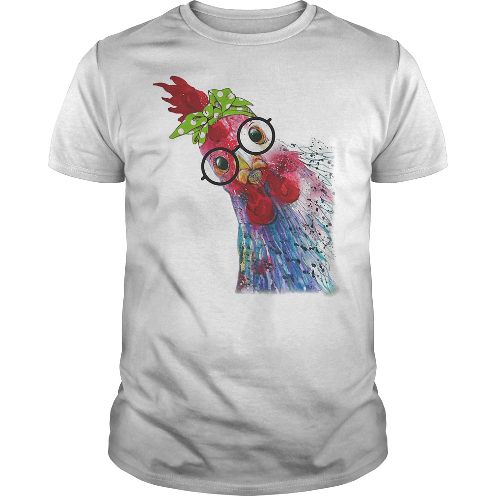Chicken bow head scarf Guys Shirt
