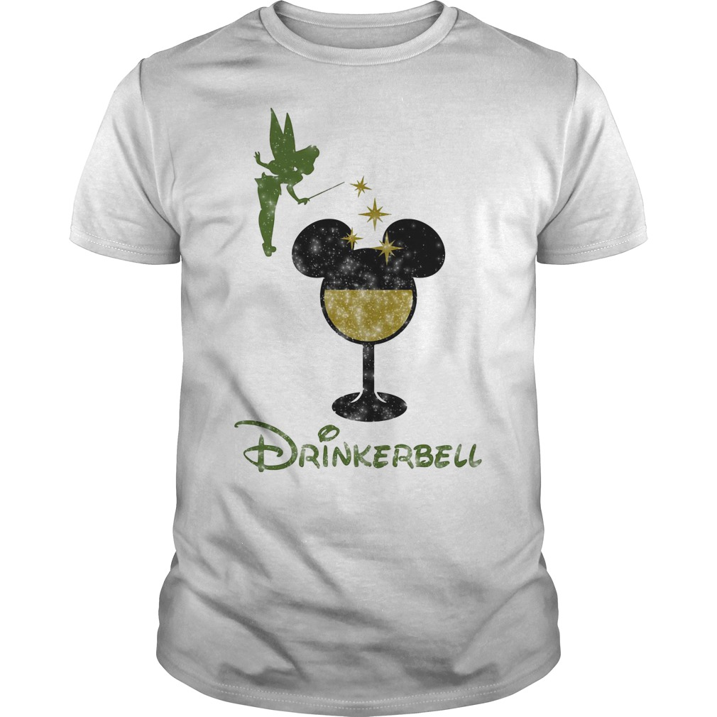 Drinkerbell Tinkerbell Disney Guys Shirt