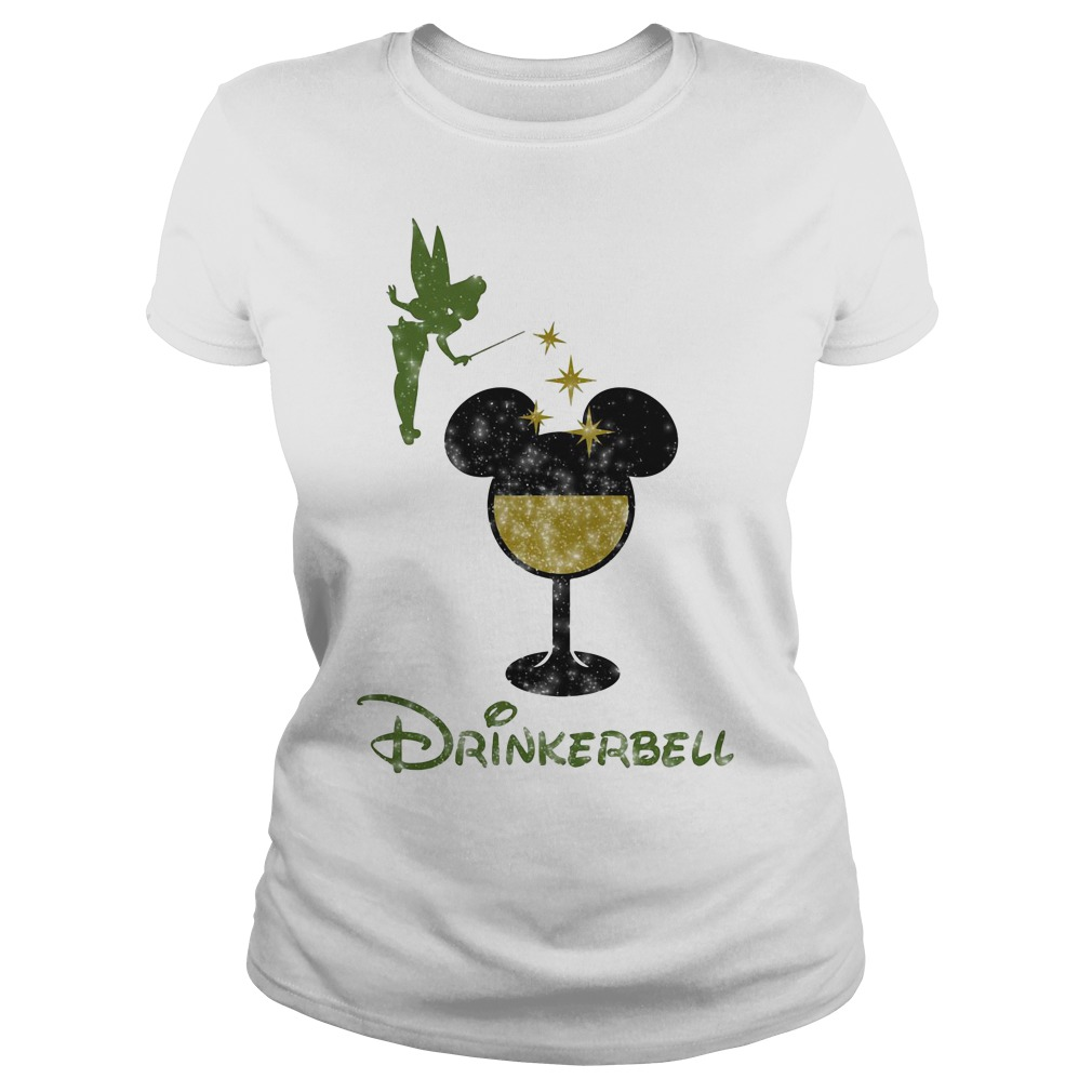 Drinkerbell Tinkerbell Disney Ladies Tee