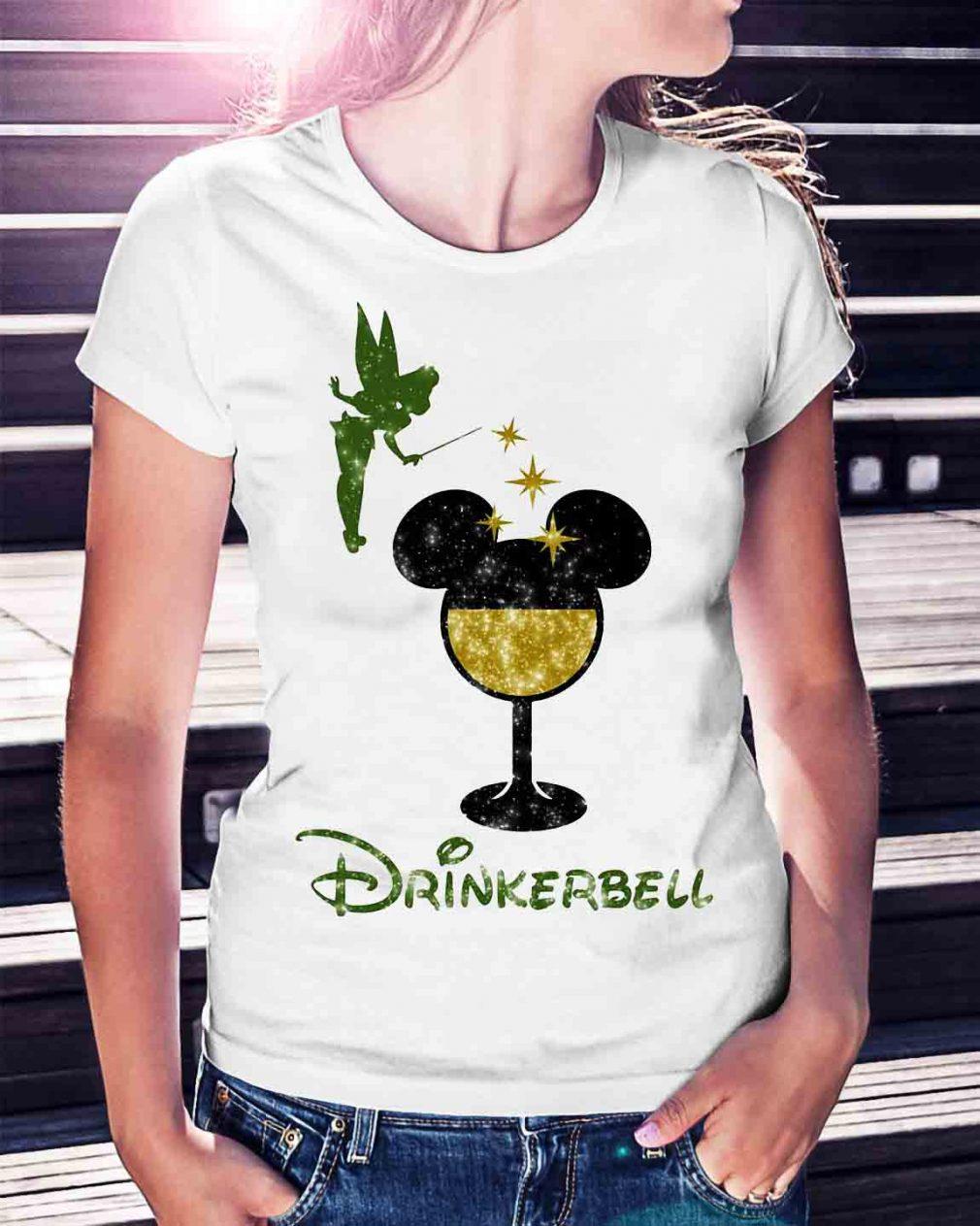Drinkerbell Tinkerbell Disney shirt