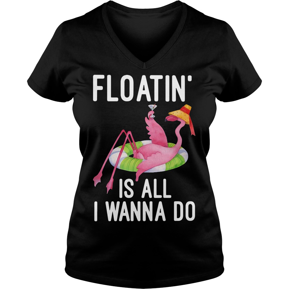 Floatin' is all I wanna do V-neck T-shirt