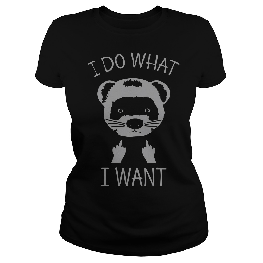 Fox I do what I want Ladies Tee