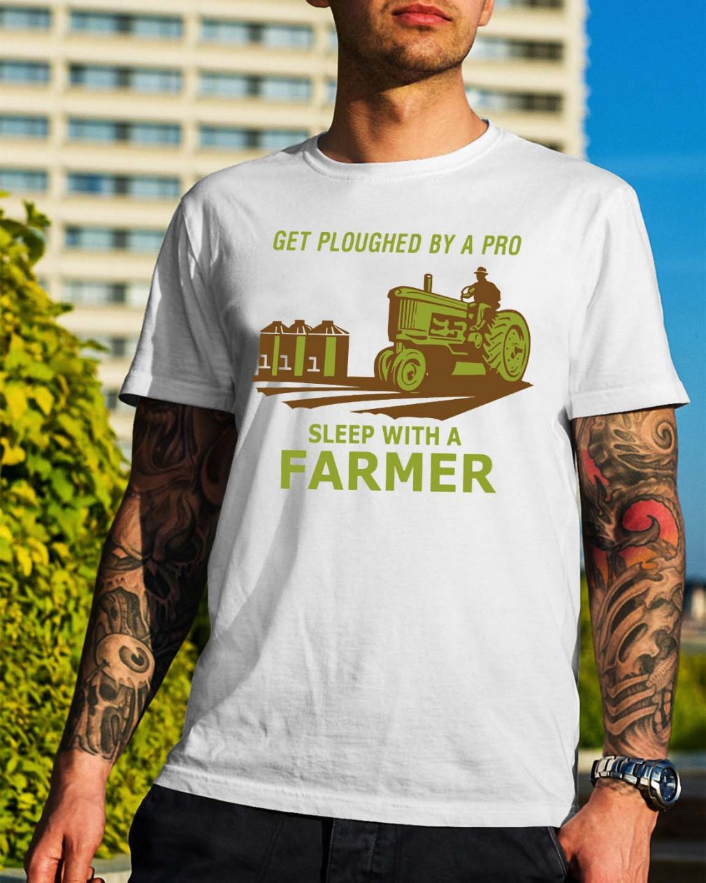 Get ploughed by a pro sleep with a farmer shirt
