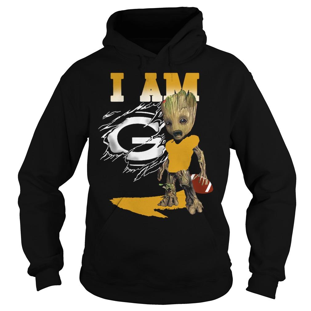 I am Groot American football Hoodie