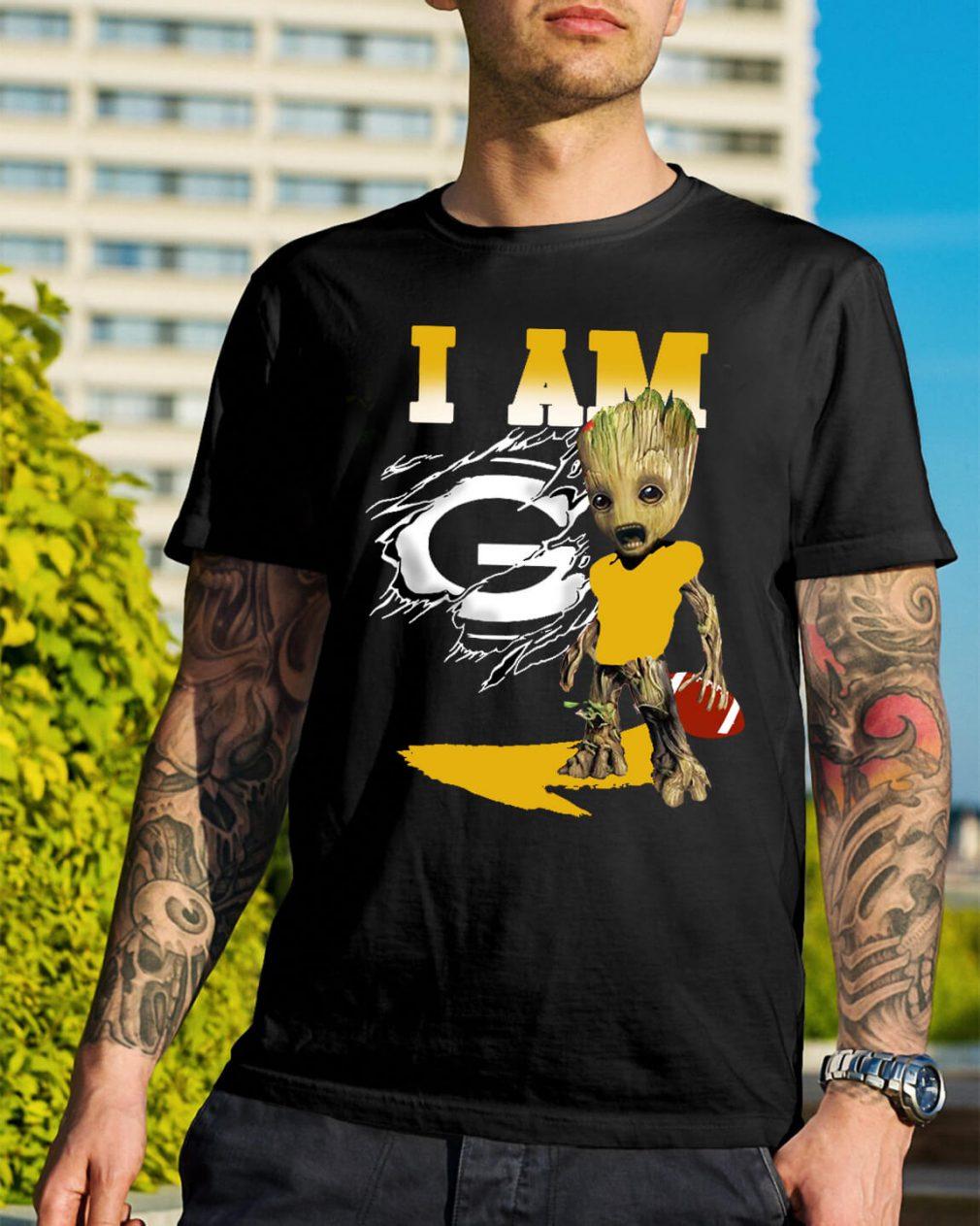 I am Groot American football shirt