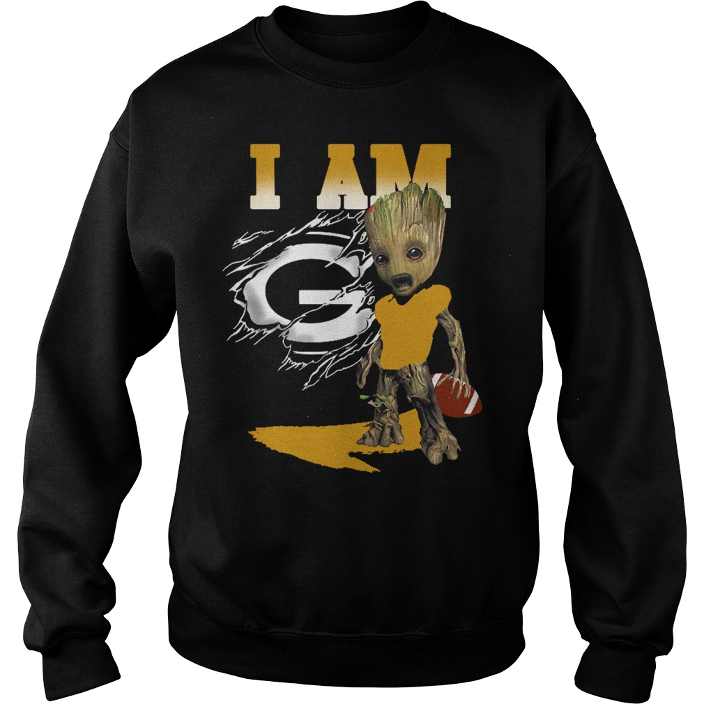 I am Groot American football Sweater