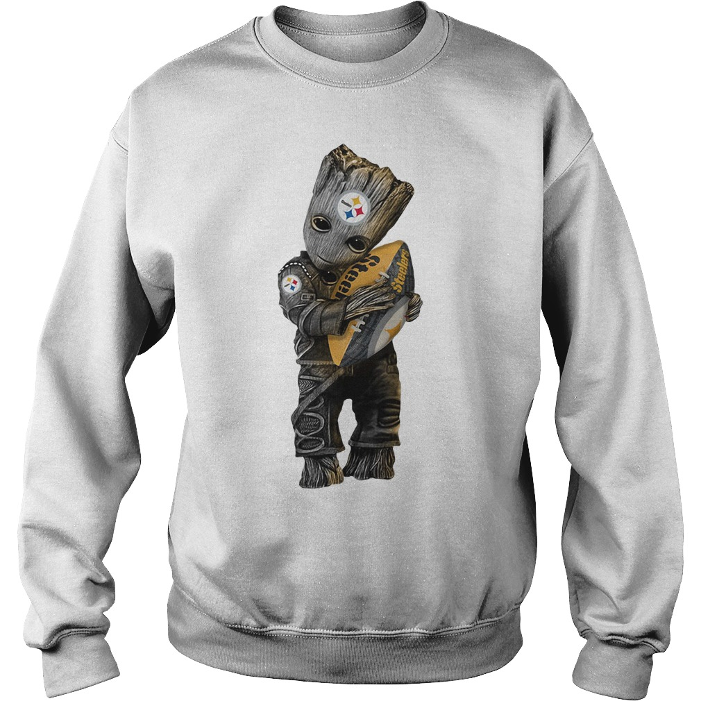 Groot hug Pittsburgh Steelers Sweater
