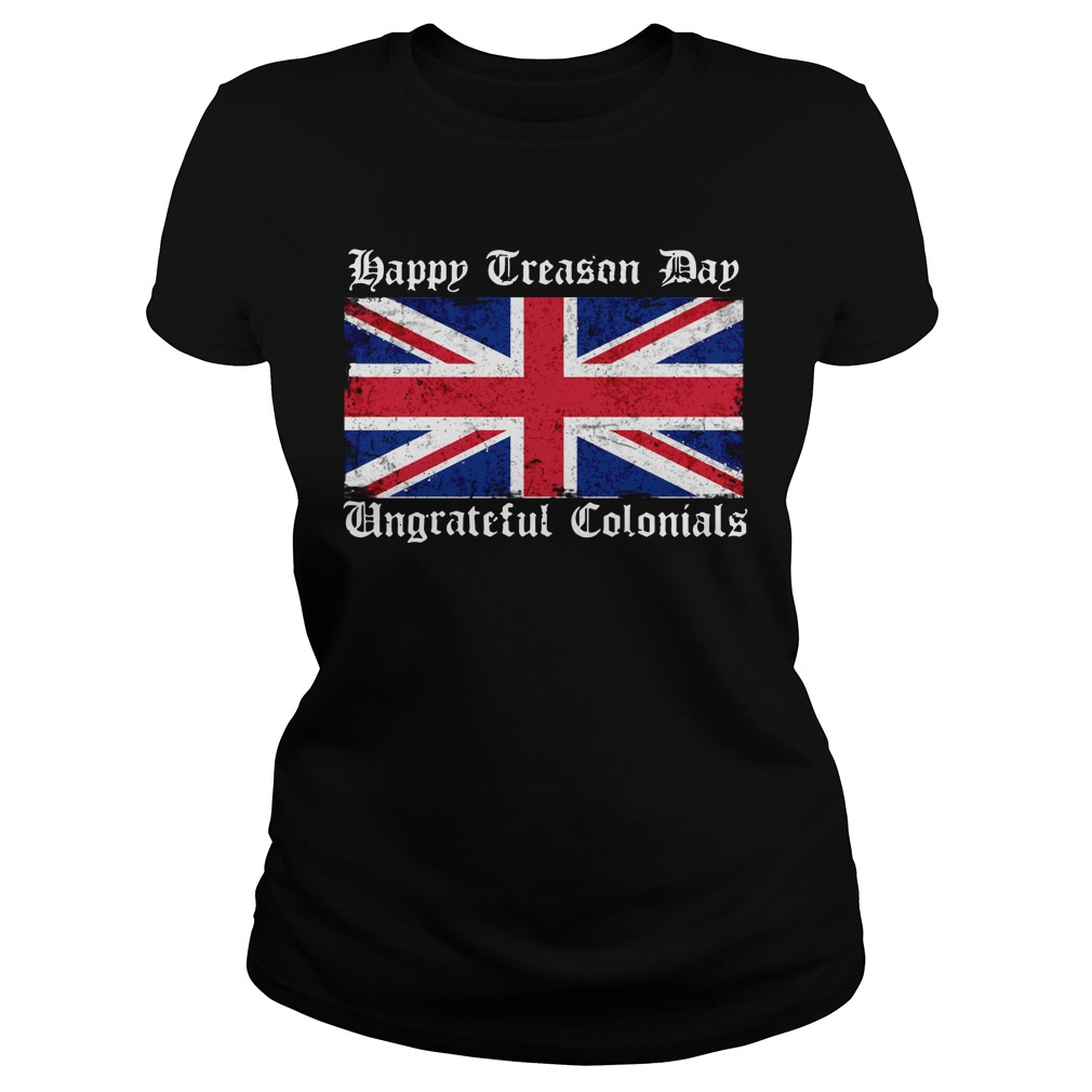 Happy treason day ungrateful Colonials Flag Sweater