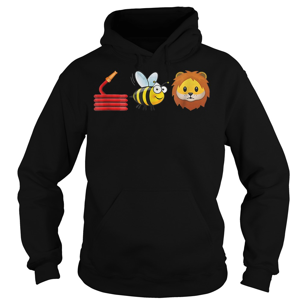 Hose bee and lions Hoodie