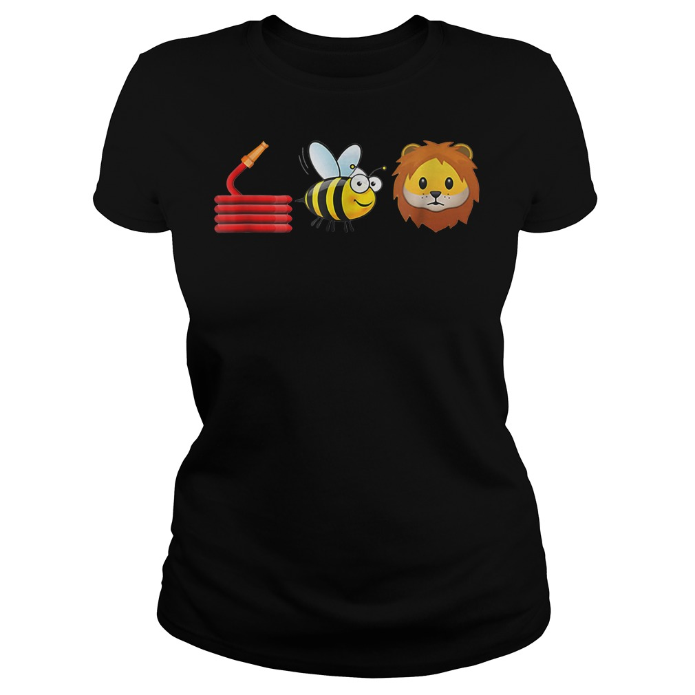Hose bee and lions Ladies Tee