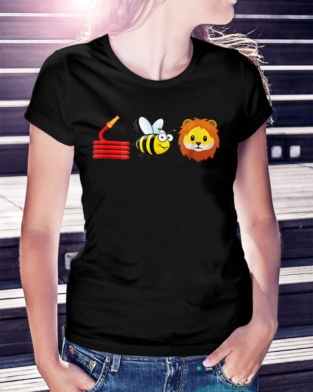 Hose bee and lions shirt