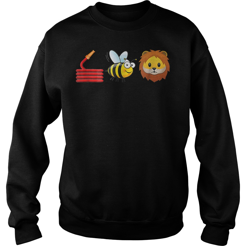 Hose bee and lions Sweater