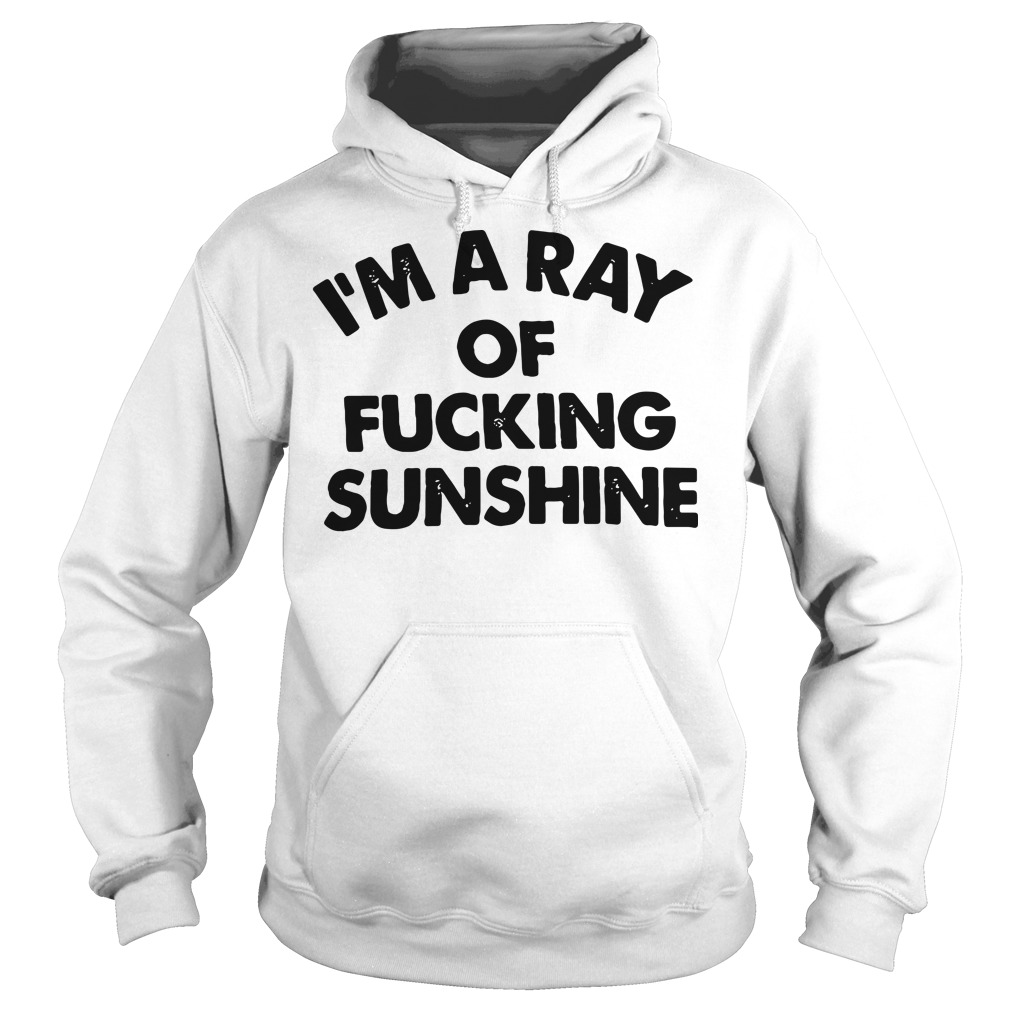 I'm a ray of fucking sunshine Hoodie