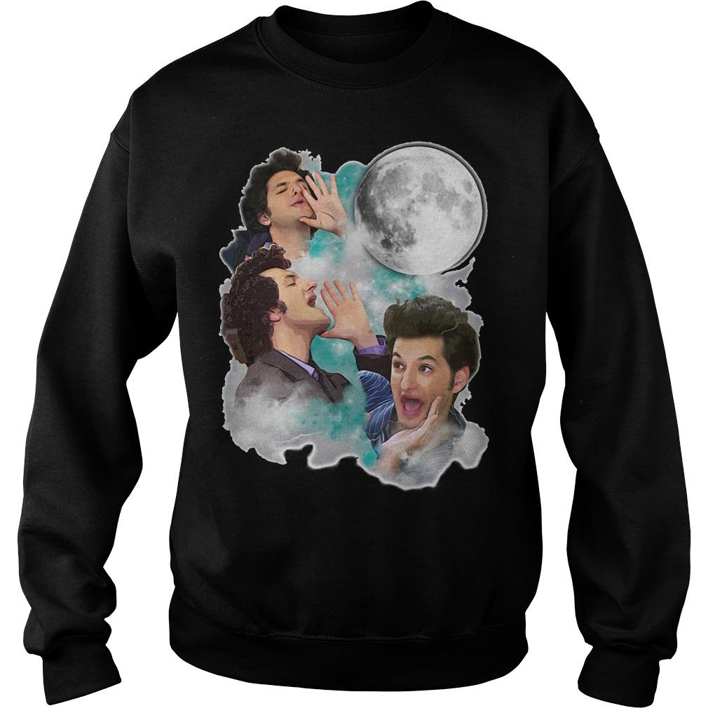 Jean Ralphio the woooorst three jean moon Sweater