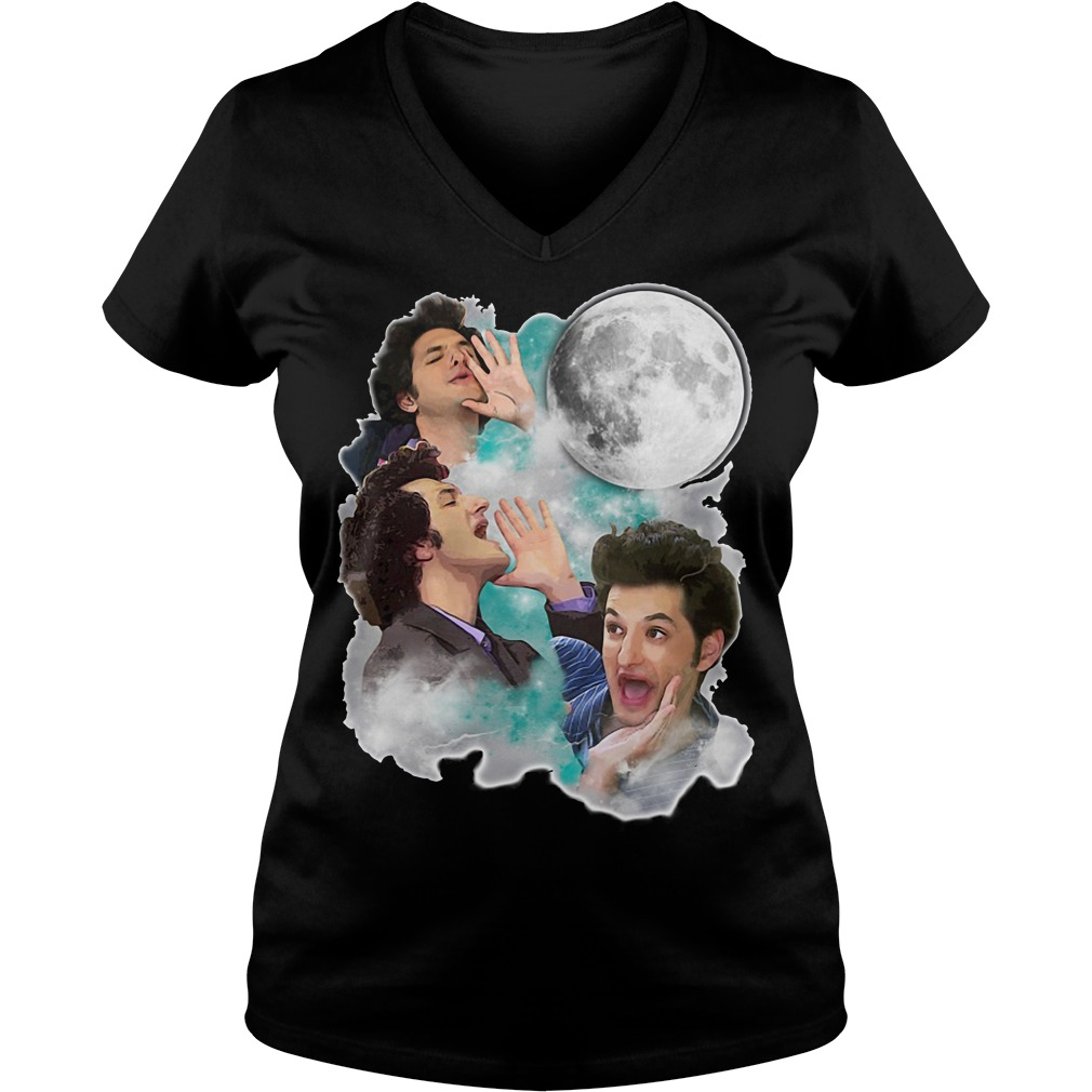 Jean Ralphio the woooorst three jean moon V-neck T-shirt