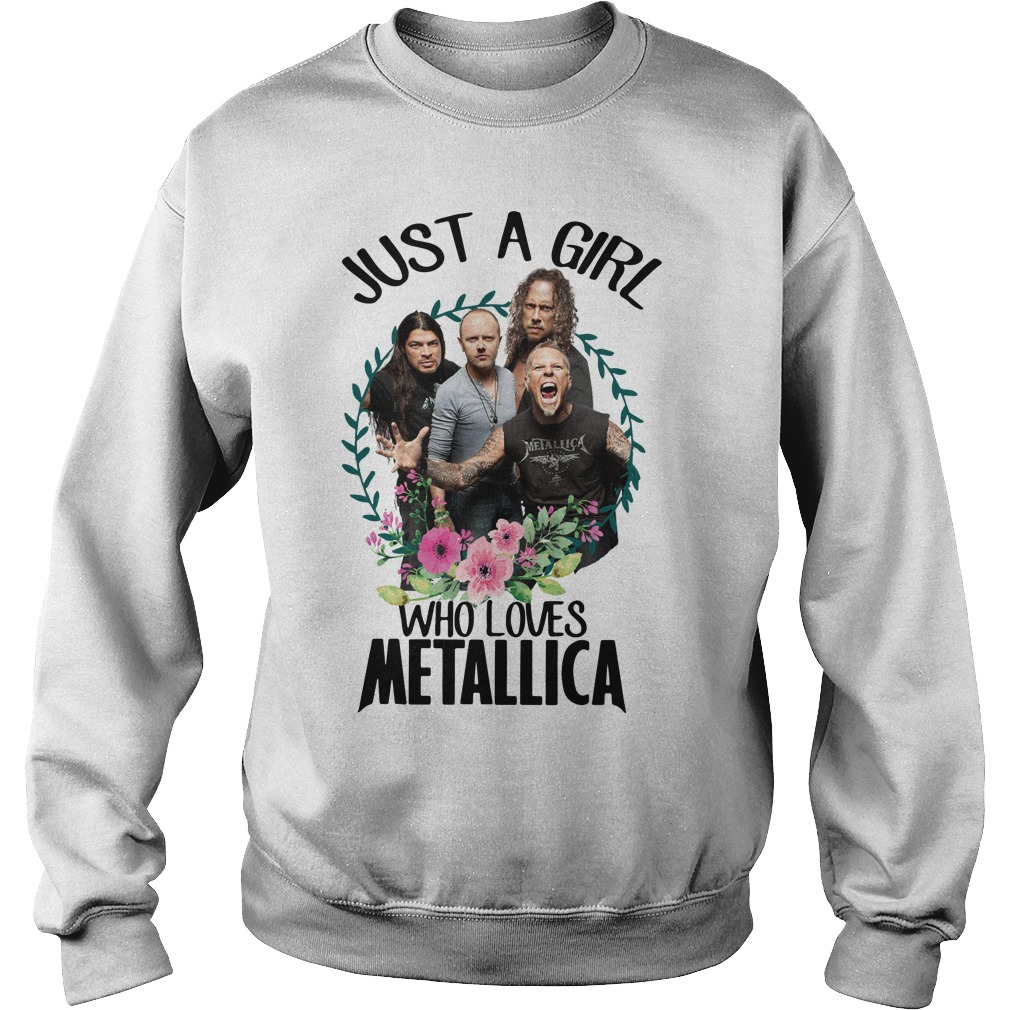 Just a girl who loves Metallica Sweater