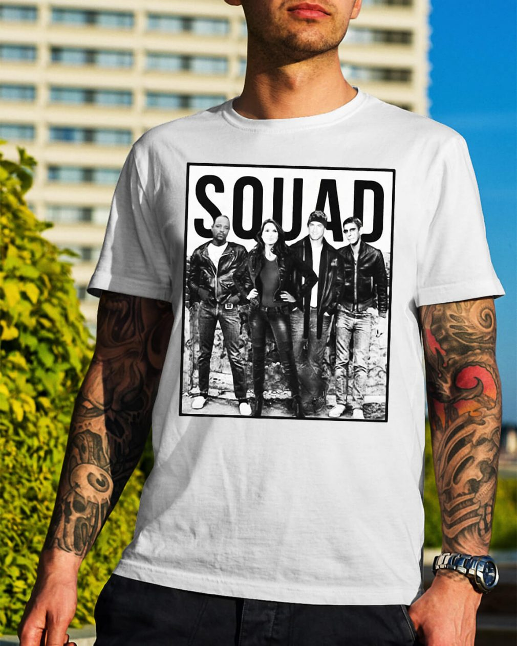 Law and Order Svu squad shirt