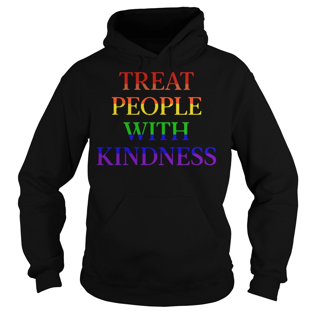 LGBT treat people with kindness Hoodie