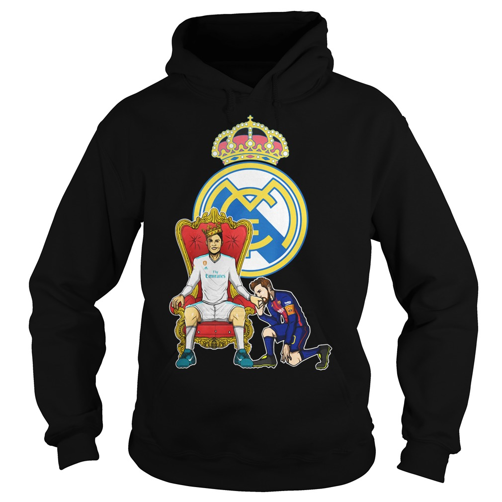 Messi Barcelona love Fly Emirates Ronaldo King Hoodie