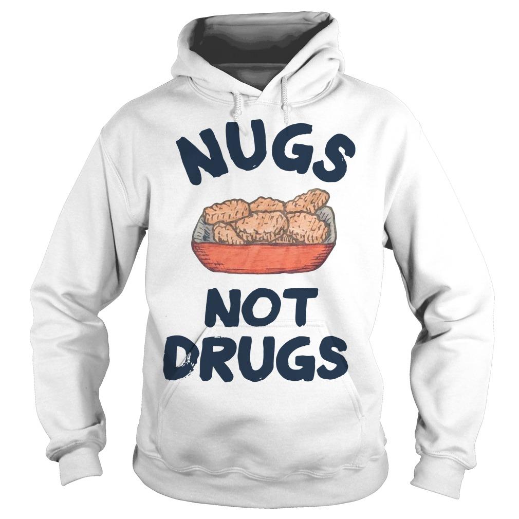 Nugs not drugs Hoodie
