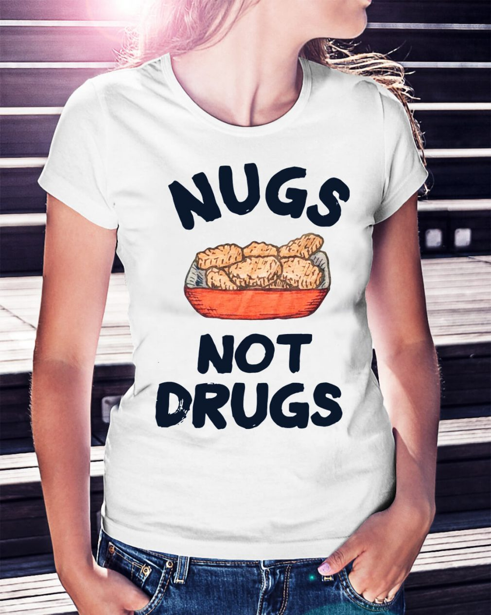 Nugs not drugs shirt
