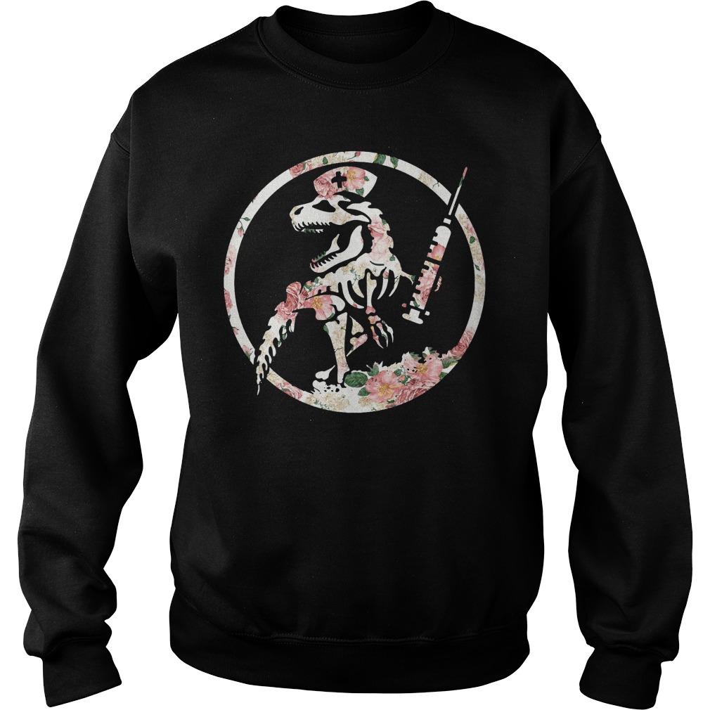 Nurse dinosaur Sweater