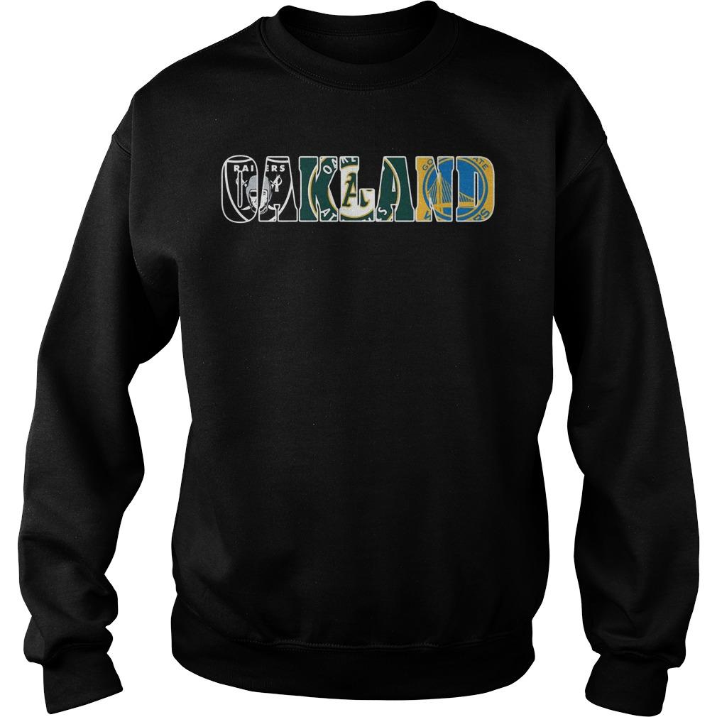 Oakland Raiders Athletics Sweater