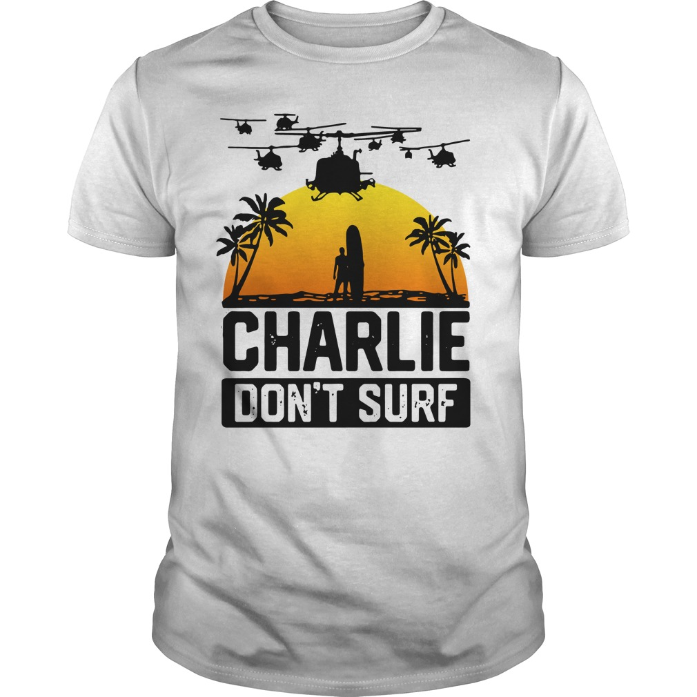 Official Charlie don't surf Guys Shirt