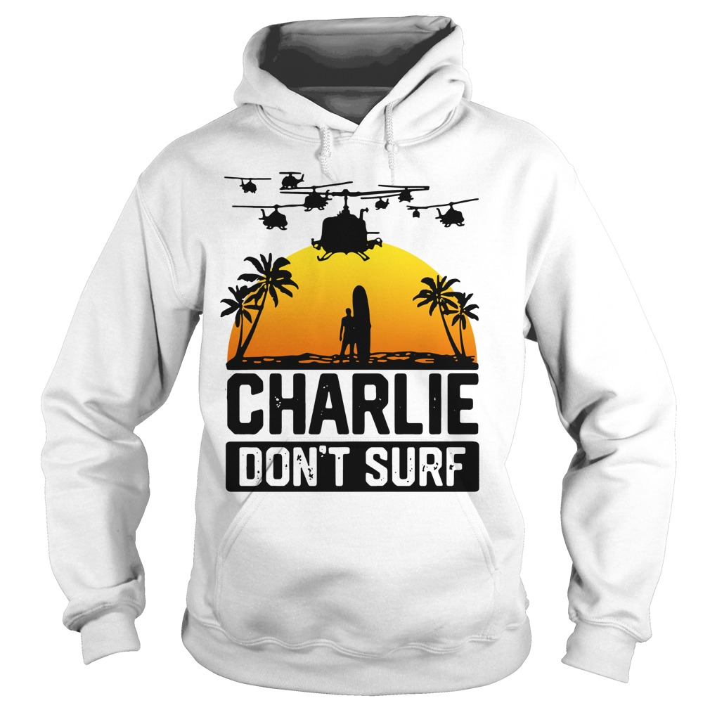 Official Charlie don't surf Hoodie