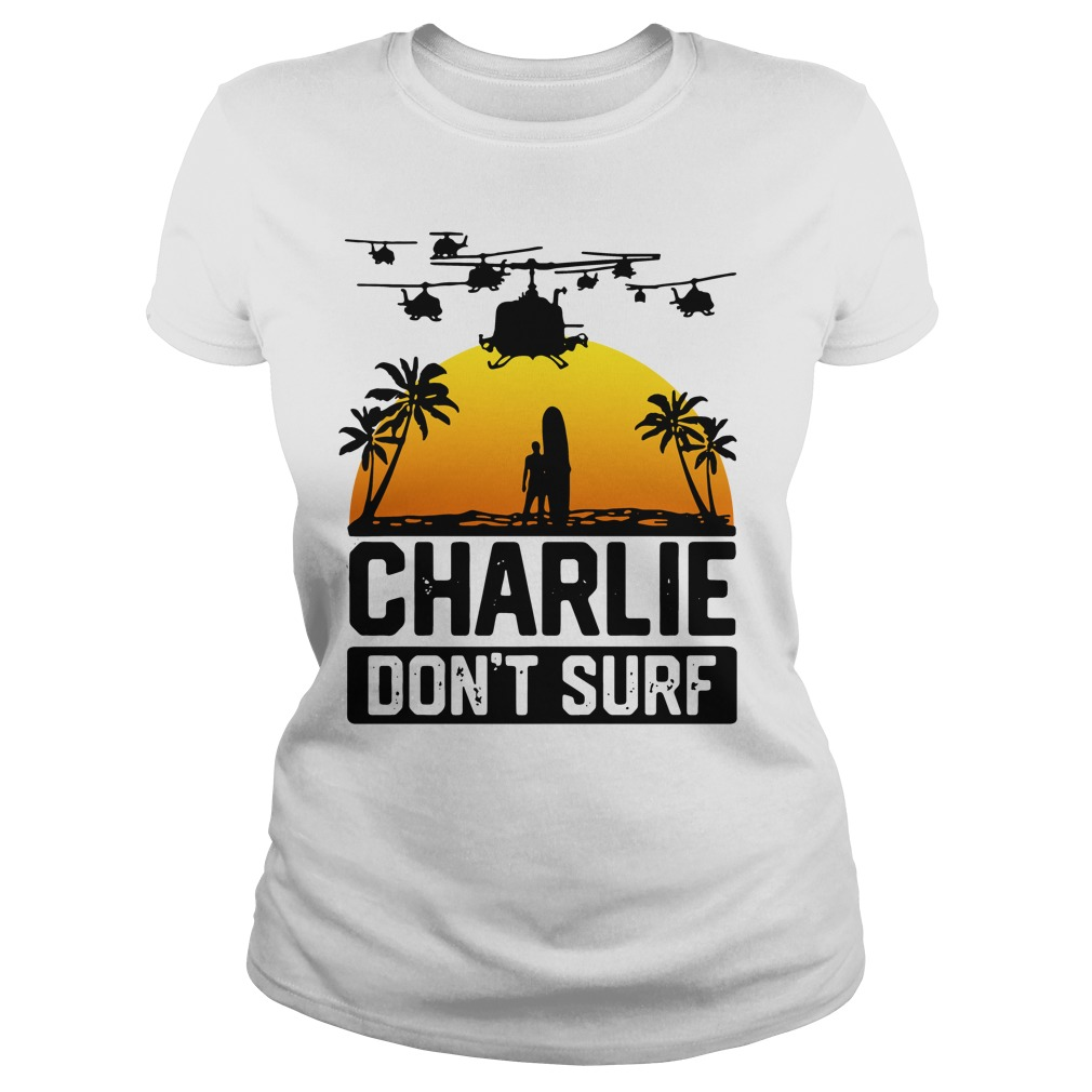 Official Charlie don't surf Ladies Tee