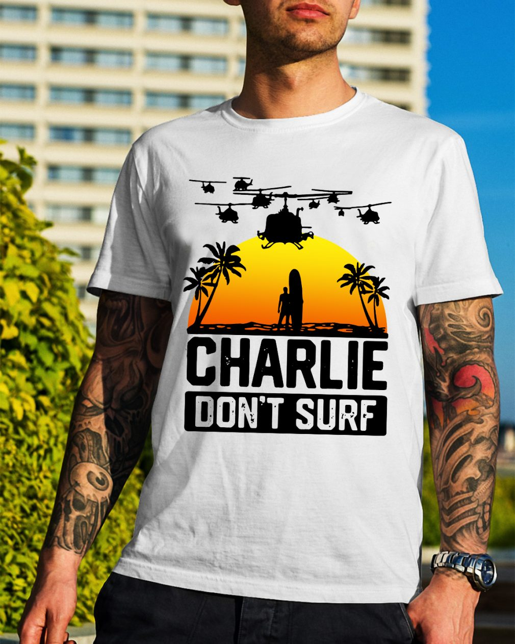 Official Charlie don't surf shirt