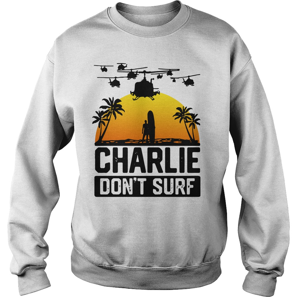 Official Charlie don't surf Sweater