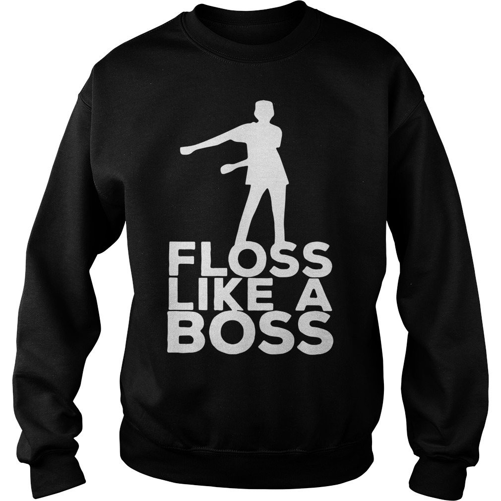 Official Floss like a boss dancing flossing Hoodie