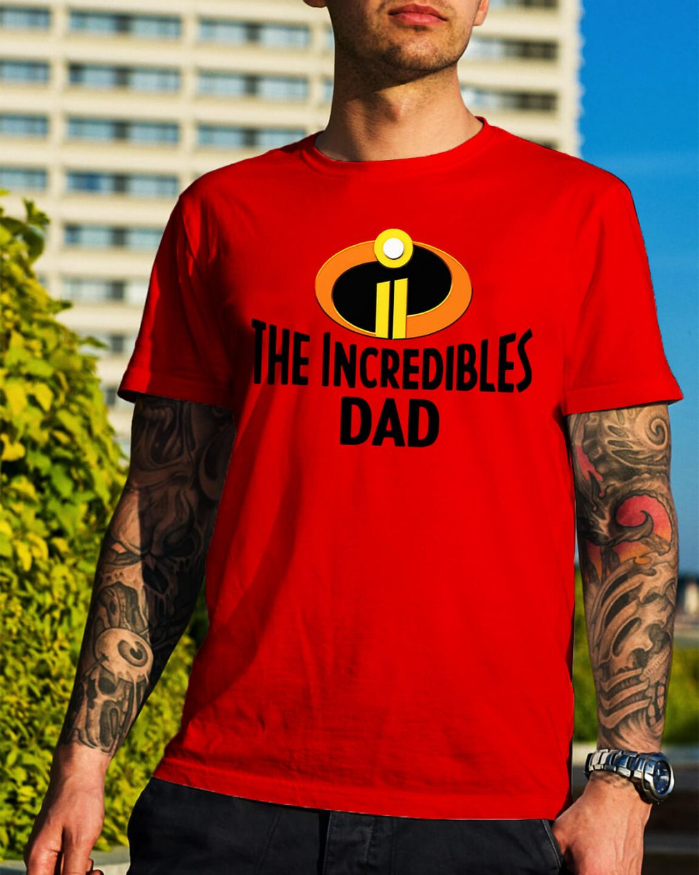 Official The Incredibles dad shirt