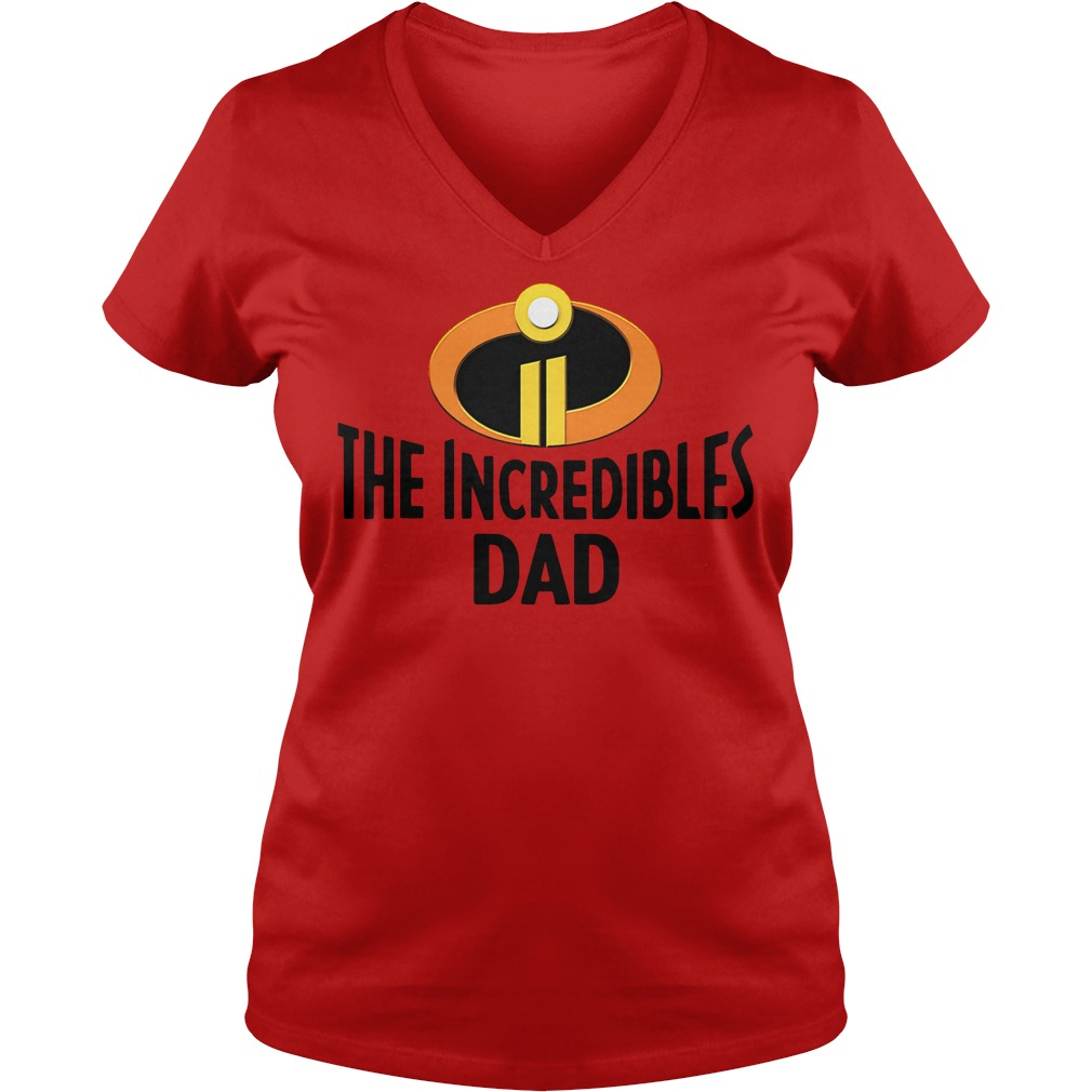 Official The Incredibles dad V-neck T-shirt