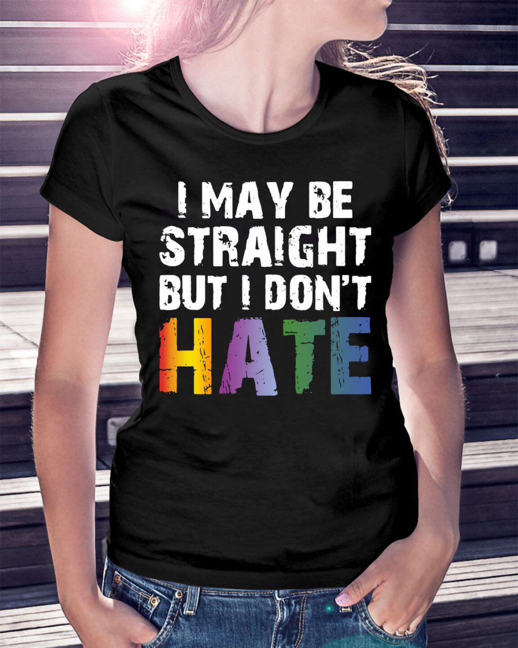 Official I may be straight but I don't hate LGBT shirt