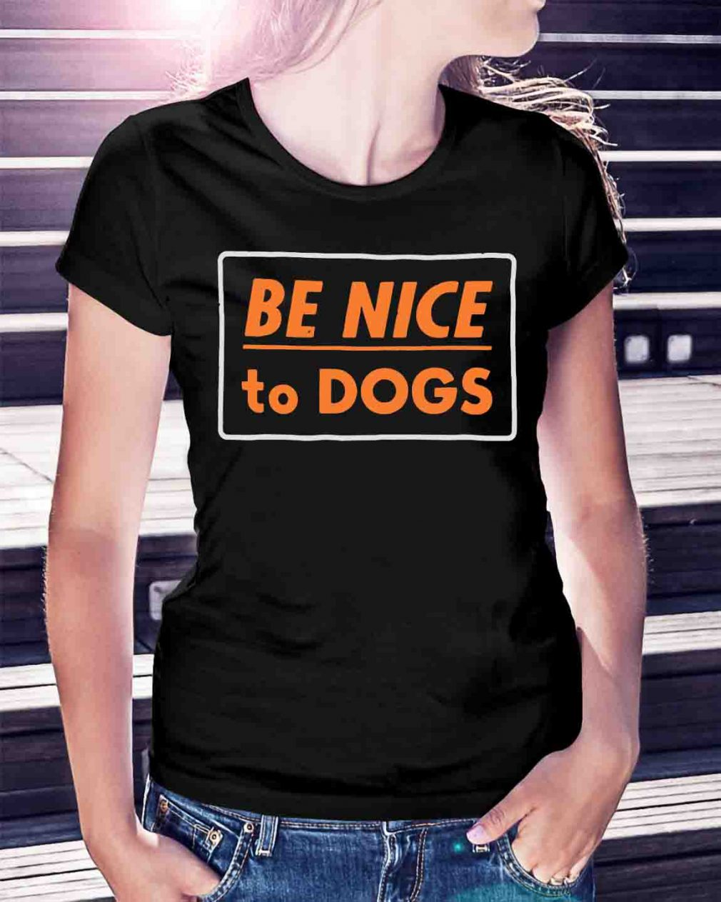 Official Be nice to dogs shirt