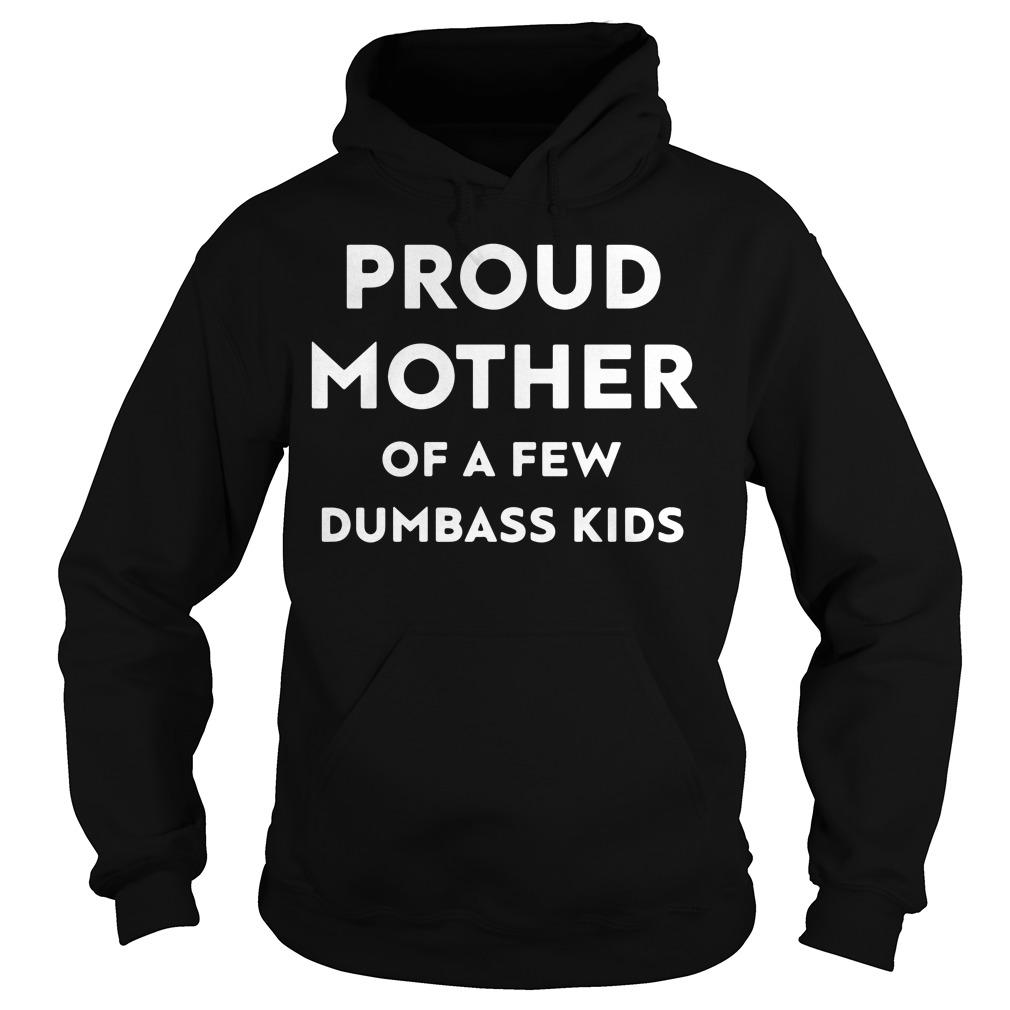 Official Proud mother of a few dumbass kids Hoodie