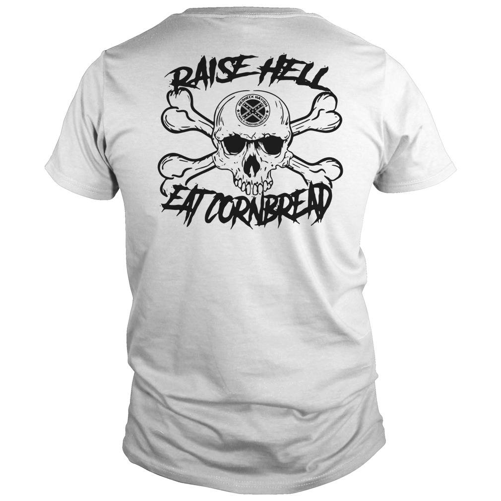Official Raise hell eat cornbread Guys Shirt