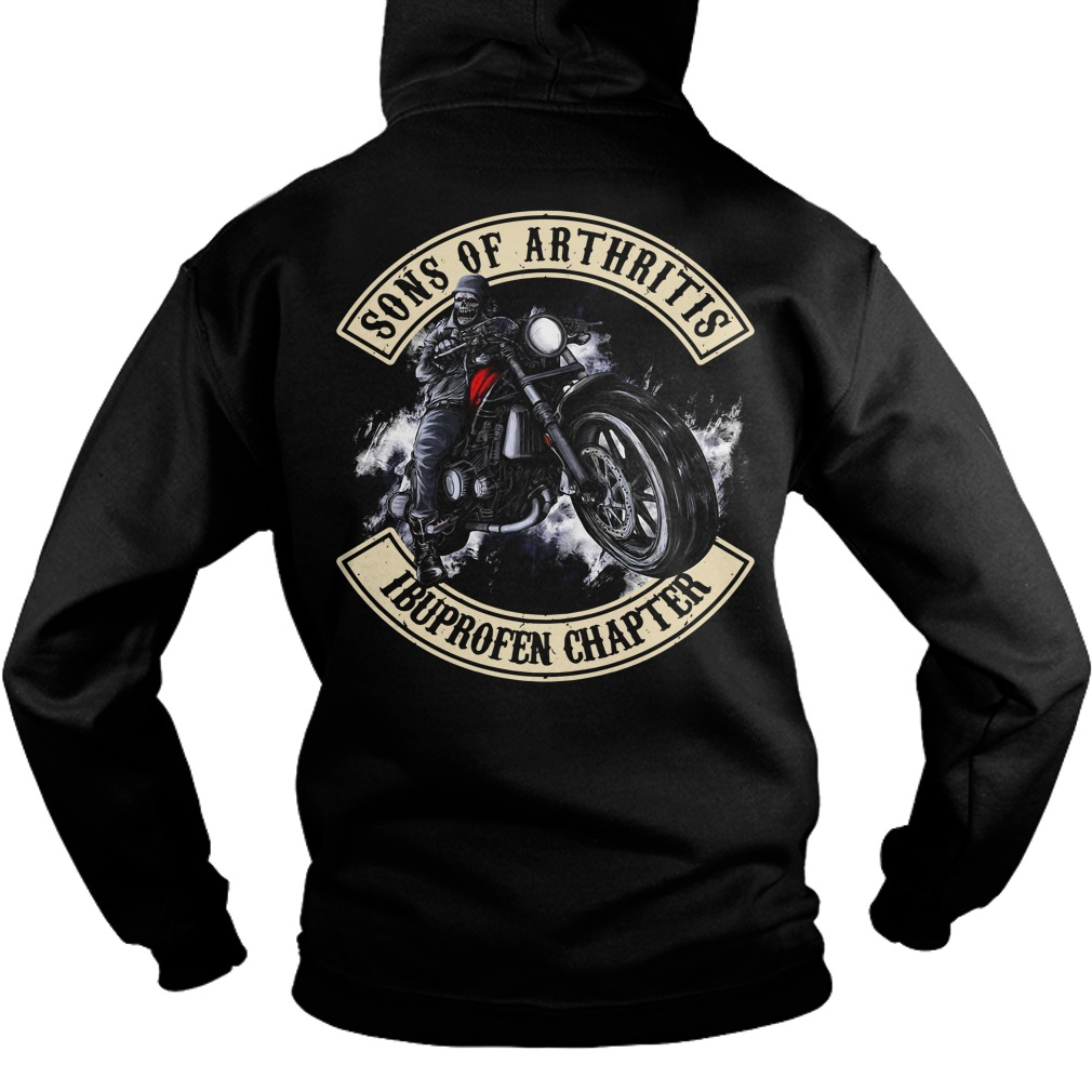 Official Sons of Arthritis Ibuprofen chapter Hoodie