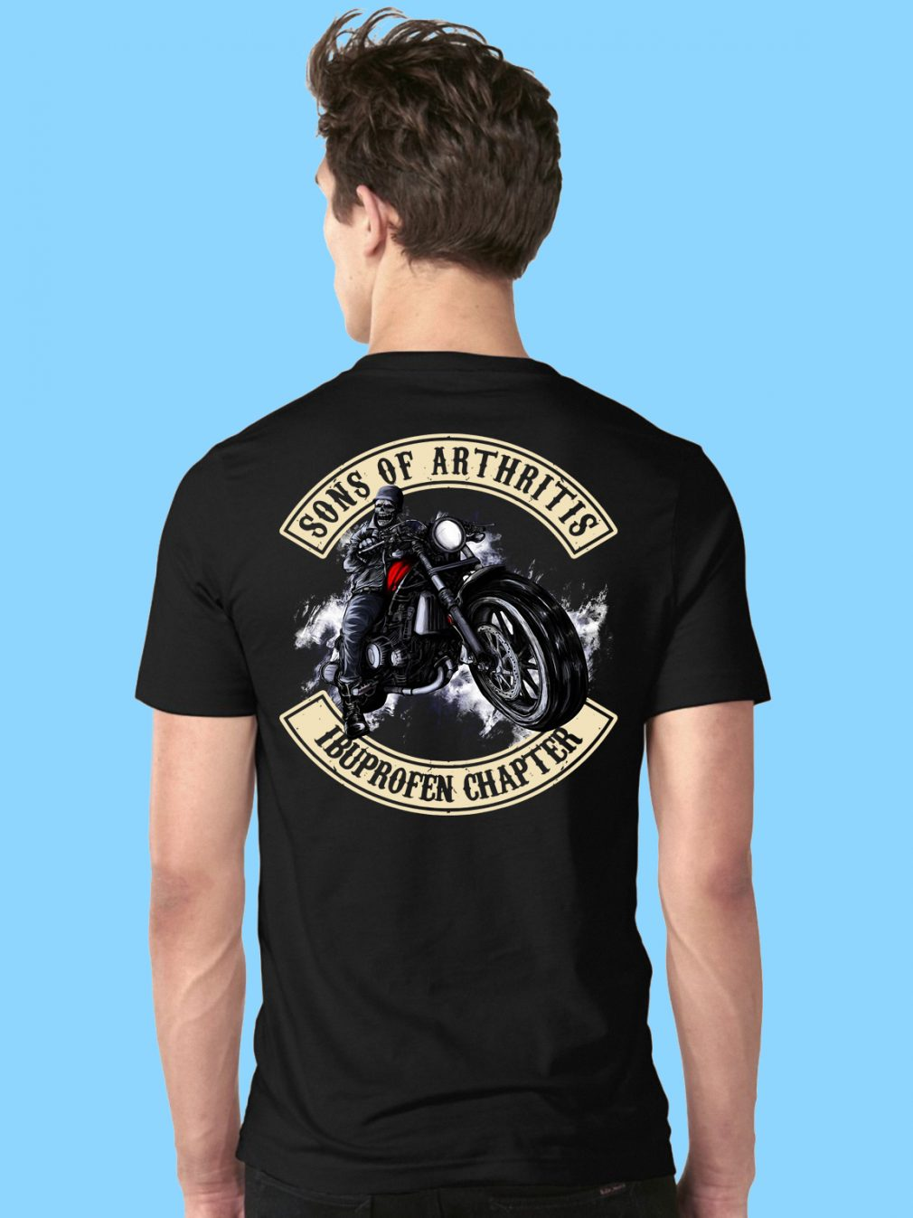 Official Sons of Arthritis Ibuprofen chapter shirt