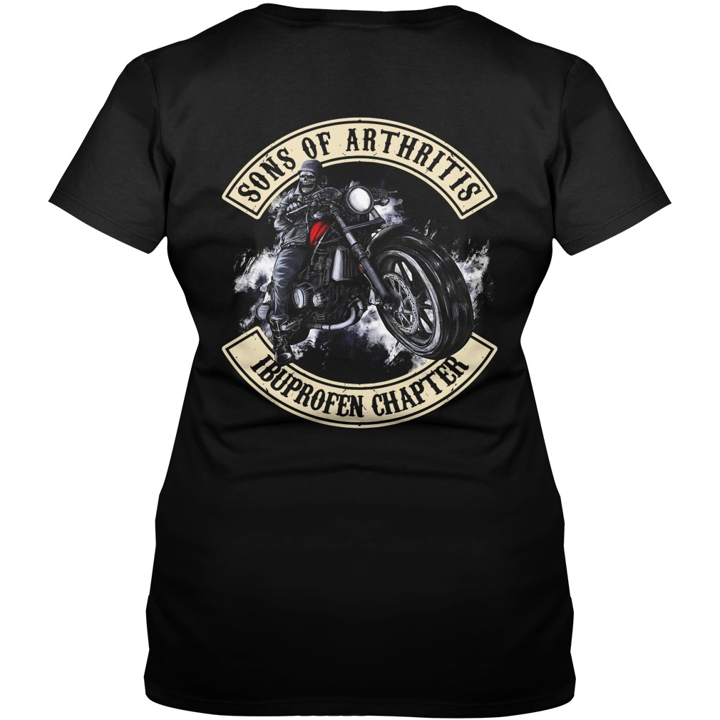 Official Sons of Arthritis Ibuprofen chapter V-neck T-shirt