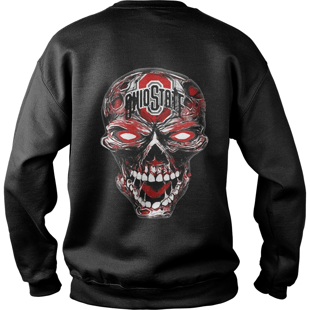Ohio State Buckeyes skull Sweater