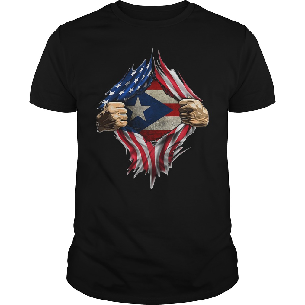 Puerto Ricans blood inside me classic Guys Shirt