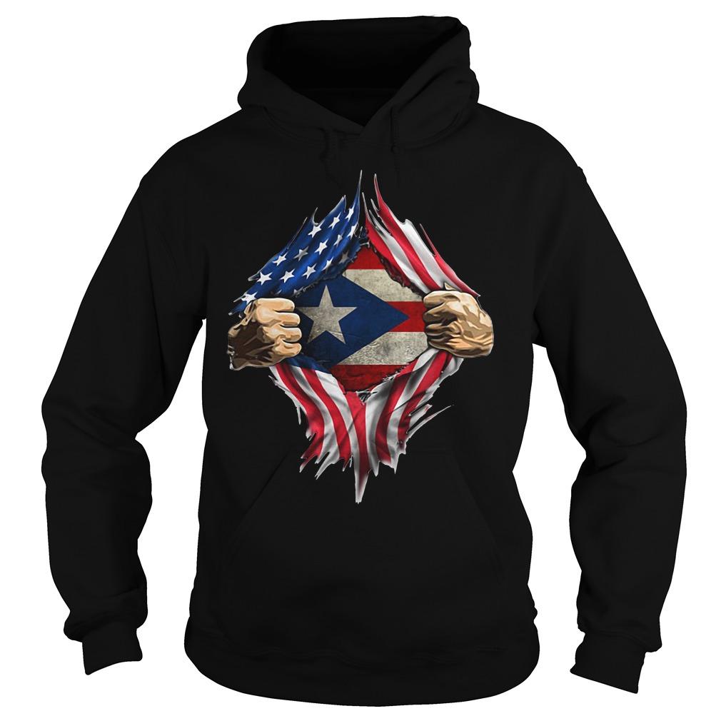 Puerto Ricans blood inside me classic Hoodie