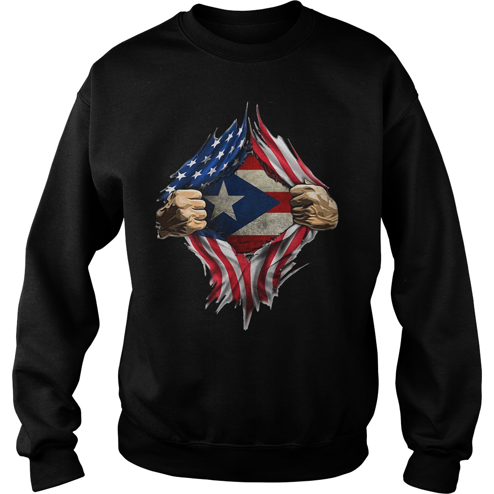 Puerto Ricans blood inside me classic Sweater