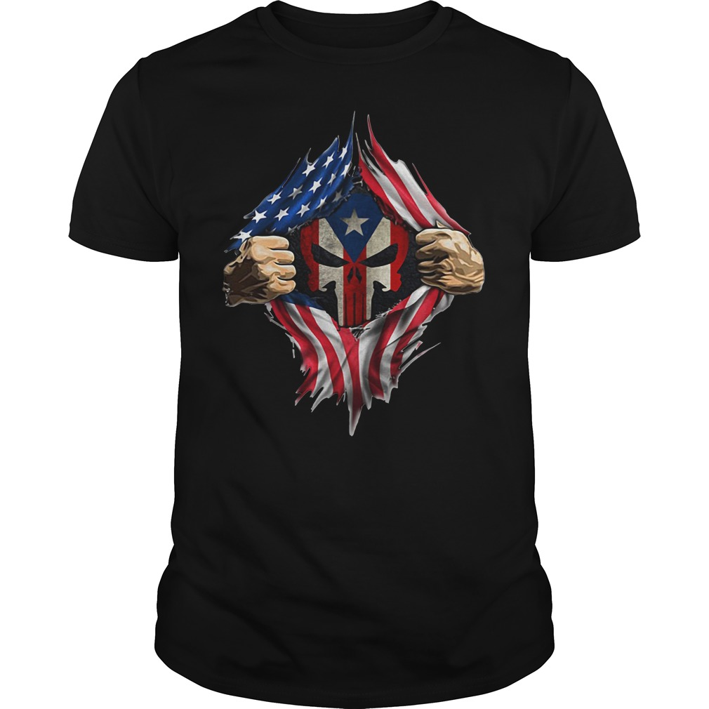 Puerto Ricans blood inside me new classic Guys Shirt