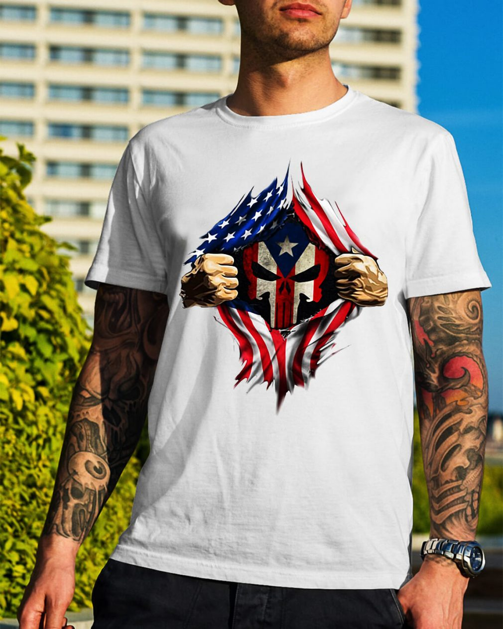 Puerto Ricans blood inside me new classic shirt